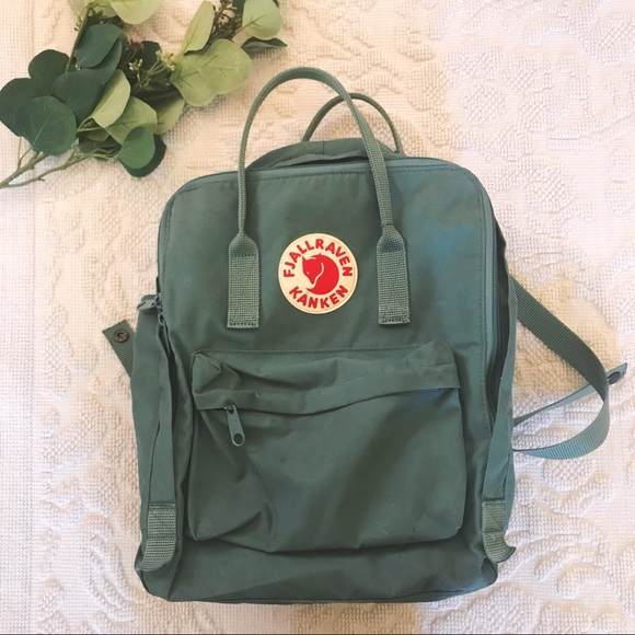 c02a4d5c2b Fjallraven Handbags - KANKEN Water Resistant Frost Green Backpack